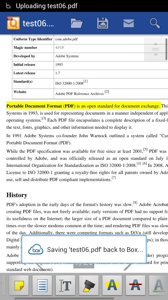 how to open notes on pdf