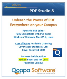 PDF Editor Software for Education Schools Universities