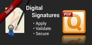 True Digital Signatures with qPDF Notes