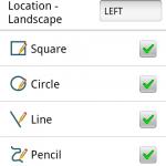qPDF Notes 2.1 Toolbar Configuration Menu