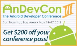 Save on AnDevCon registration